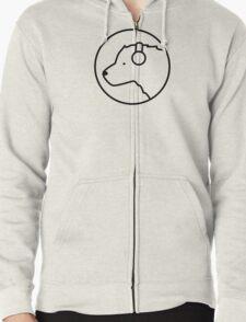 Polar Bear DJ Zipped Hoodie