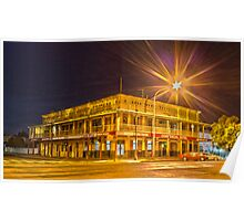Commercial Hotel Hay nsw  Poster