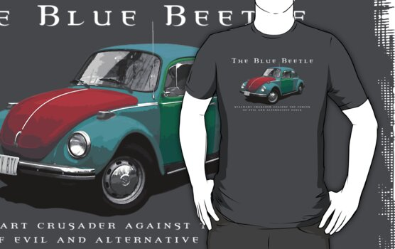 The Blue Beetle by mrsxandamere