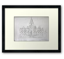 Town Hall  Framed Print