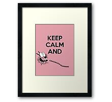 When in doubt, have Courage Framed Print