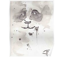 Panda Water Poster