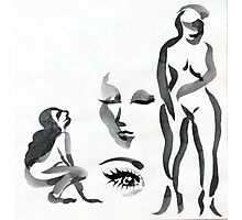 Ink Girls Photographic Print
