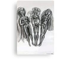 Barbie Dolls Canvas Print