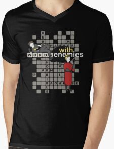 Words with Enemies: Horrible Edition  Mens V-Neck T-Shirt