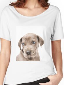 Great Dane Puppy  Women's Relaxed Fit T-Shirt