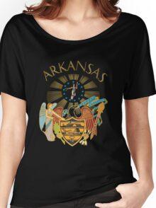 Arkansas seal Women's Relaxed Fit T-Shirt