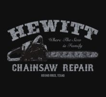 Hewitt Chainsaw Repair by thecreep