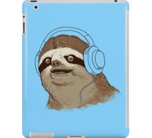 What is a sloths favourite music? iPad Case/Skin