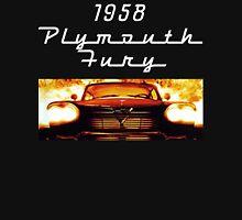 Christine - 1958 Plymouth Fury (White Font) Hoodie