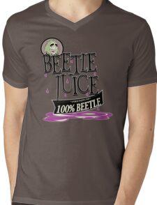 100% Beetle Mens V-Neck T-Shirt