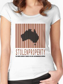 Stolen Property [-0-] Women's Fitted Scoop T-Shirt