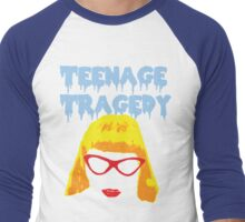 Teenage Tragedy  Men's Baseball ¾ T-Shirt