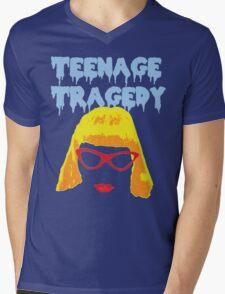 Teenage Tragedy  Mens V-Neck T-Shirt