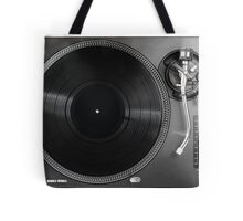 Professional turntable vinyl record player Tote Bag