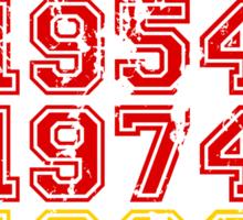 World Champion 2014 - Germany Sticker