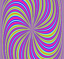 Eye boggling swirl by Norma Cornes