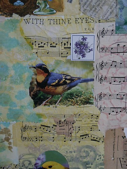 Collage Delight by Sandra Foster