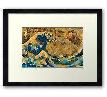 The Great Wave at Kanagawa Framed Print