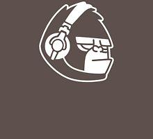 Grumpy Gorilla with Headphones Unisex T-Shirt