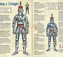 Arming a 15th Century Knight by wonder-webb