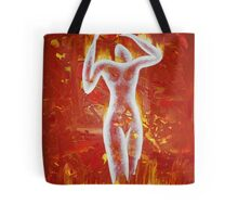 Woman born of fire Tote Bag