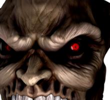 Horned Evil Sticker