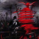 Stroll in Red by Tatiana Ivchenkova