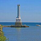 Huron Harbor Light by Jack Ryan