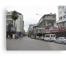 Streetscape on sunday,Adana. Metal Print