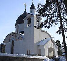 church in winter by mrivserg