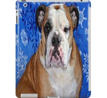 bull dog iPad Case/Skin