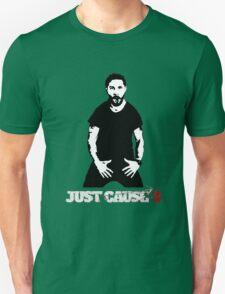 Just Cause 3 Shia Labeouf Unisex T-Shirt