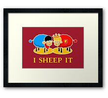 I Sheep it Framed Print