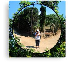 Mirror image. Canvas Print