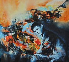Sacrifice, featured in Painters Universe by Françoise  Dugourd-Caput