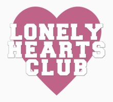 Lonely Hearts Club - pink by Laurieee
