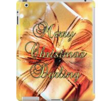 Merry Christmas Darling iPad Case/Skin