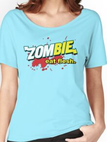 Eat Flesh! Women's Relaxed Fit T-Shirt