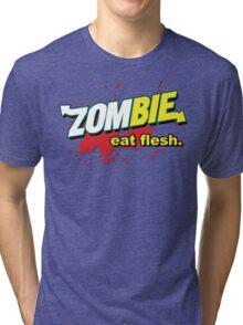 Eat Flesh! Tri-blend T-Shirt