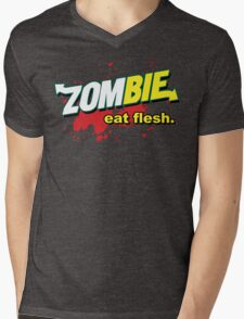 Eat Flesh! Mens V-Neck T-Shirt