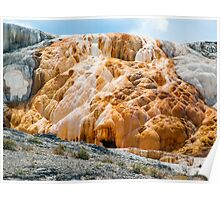 Mammoth Hot Springs Living Limestone - Yellowstone NP Poster