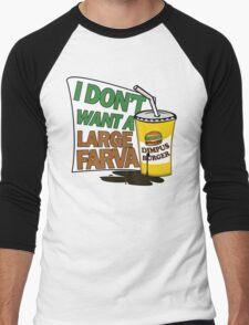 Large Farva! Men's Baseball ¾ T-Shirt