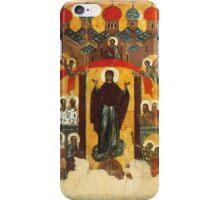 Old Russian icon The Intercession iPhone Case/Skin