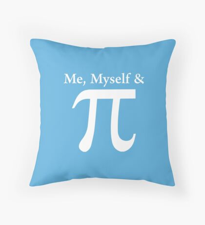 Funny And Witty Pi Day Throw Pillow
