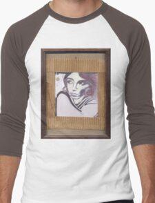 Portrait of Lilith Men's Baseball ¾ T-Shirt