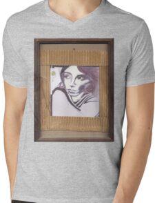 Portrait of Lilith Mens V-Neck T-Shirt