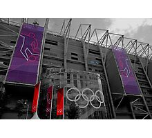 Olympic Toon Photographic Print