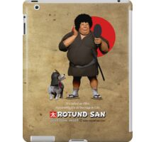 Samurai with an Afro iPad Case/Skin