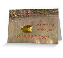 Happy Birthday - Male Greeting Card